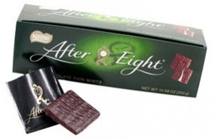 after eights - not zero waste