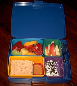 laptop lunchbox for a zero waste meal