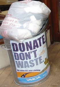 Donate Don't Waste say the YMCA