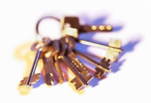 Keys can be recycled as mixed metal