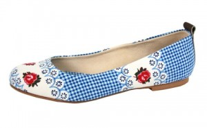 Gorgeous girly recycled shoes from TRAIDremade