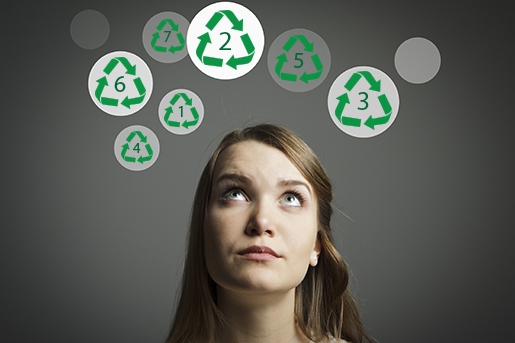 plastic recycling numbers codes