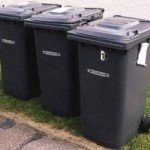 Now Bins to be emptied once a month