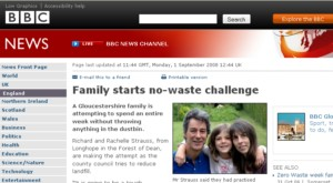 zero waste week on the BBC