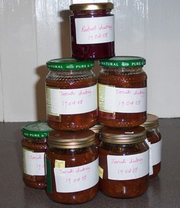Chutney glut - for zero food waste