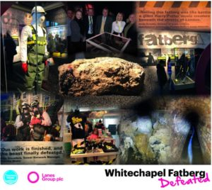lanes group plc whitechapel fatberg