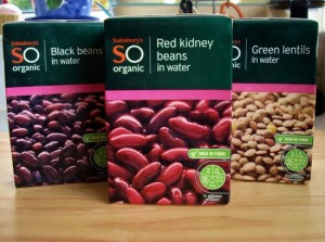red kidney beans tetra pak carton